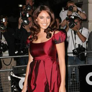 Kelly Brook in 2007 GQ Magazine Men of the Year Awards - Arrivals
