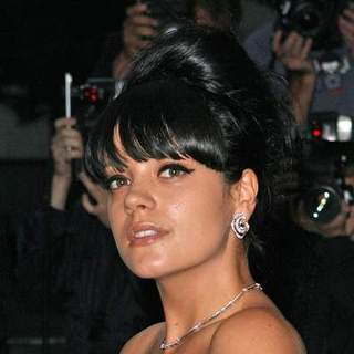 Lily Allen in 2007 GQ Magazine Men of the Year Awards - Arrivals - SPX-011559