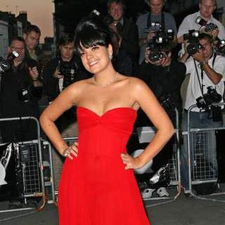 Lily Allen in 2007 GQ Magazine Men of the Year Awards - Arrivals - SPX-011560