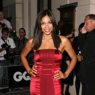 Rosario Dawson in 2007 GQ Magazine Men of the Year Awards - Arrivals