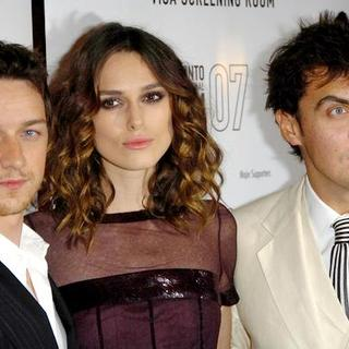 Keira Knightley, James McAvoy, Joe Wright in The 32nd Annual Toronto International Film Festival - Atonement Movie Premiere