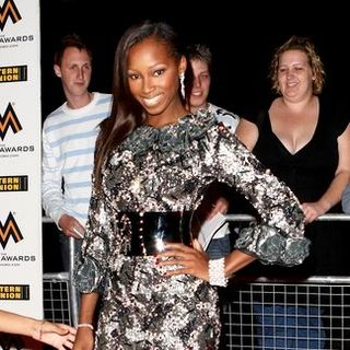 Jamelia in MOBO Awards 2007