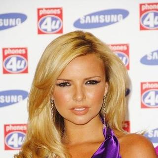 Nadine Coyle in Girls Aloud Launch the New Samsung F210 Purple