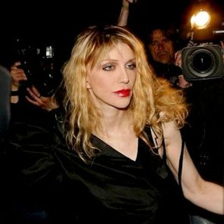 Courtney Love in Swarovski Fashion Rocks 2007 After Party Hosted by Sony Ericsson