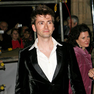 David Tennant in National Television Awards 2007 - Arrivals