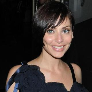Natalie Imbruglia in Chanel Party in Honor of Karl Largerfeld Departures From Nobu in London on December 5, 2007