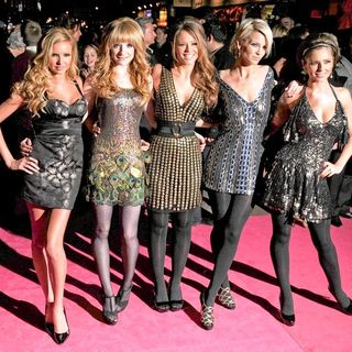 "Girls Aloud in ""St. Trinian's"" London Premiere - Arrivals"
