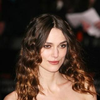 Keira Knightley in The Orange British Academy of Film and Television Arts Awards 2008 (BAFTA) - Outside Arrivals