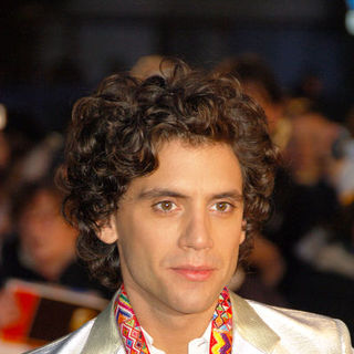 Mika in The Brit Awards 2008 - Red Carpet Arrivals