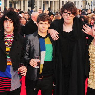 Klaxons in The Brit Awards 2008 - Red Carpet Arrivals - SPX-018701