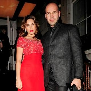 Kelly Brook, Billy Zane in Dom Perignon Launch Party Hosted by Claudia Schiffer at the Portland Place in London