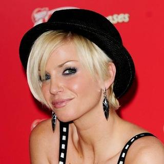 "Sarah Harding, Girls Aloud in Girls Aloud Launches the New ""Kit Kat Senses"" Chocolate Bar - Photocall"