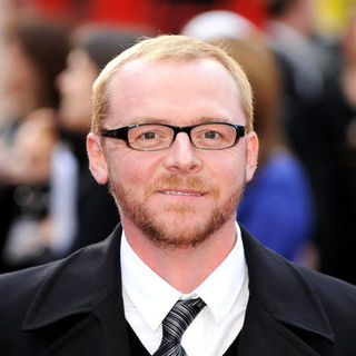 "Simon Pegg in ""Iron Man"" London Premiere - Arrivals"