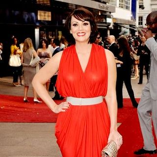 "Martine McCutcheon in ""Sex and the City: The Movie"" London Premiere - Arrivals - SPX-021532"
