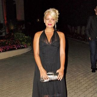 "Lily Allen in 2008 Cannes Film Festival - Akvinta GQ Party for ""How to Loose Friends and Alienate People"" Premiere - SPX-021681"