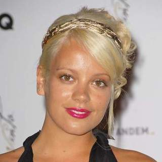 "Lily Allen in 2008 Cannes Film Festival - Akvinta GQ Party for ""How to Loose Friends and Alienate People"" Premiere - SPX-021682"