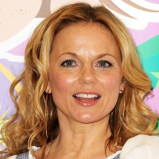 "Geri Halliwell in Geri Halliwell Signs Copies of Her Book ""Ugenia Lavender"" at the Tesco Extra Store in Watford"