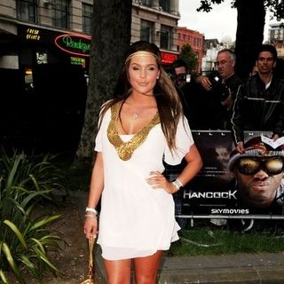 "Danielle Lloyd in ""Hancock"" London Premiere - Arrivals"