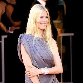 "Claudia Schiffer in 65th Annual Venice Film Festival - ""Burn After Reading"" - Premiere"