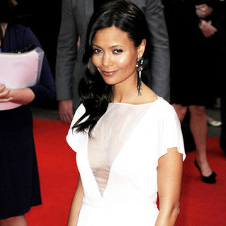 "Thandie Newton in ""RocknRolla"" - UK Premiere - Arrivals"
