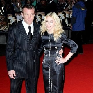 "Madonna, Guy Ritchie in ""RocknRolla"" - UK Premiere - Arrivals"