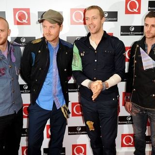 Coldplay in 2008 Q Awards - Arrivals