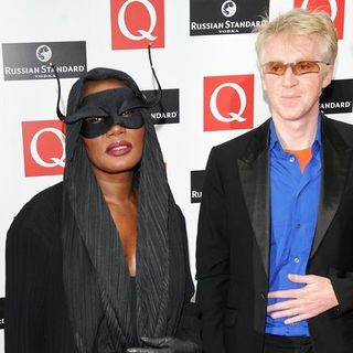 Grace Jones, Philip Treac in 2008 Q Awards - Arrivals