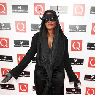 Grace Jones in 2008 Q Awards - Arrivals