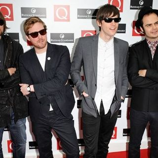 Kaiser Chiefs in 2008 Q Awards - Arrivals