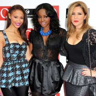 Sugababes in 2008 Q Awards - Arrivals