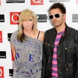 The Ting Tings in 2008 Q Awards - Arrivals