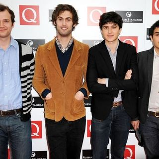 Vampire Weekend in 2008 Q Awards - Arrivals