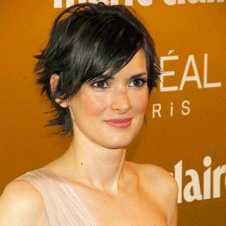 Winona Ryder in Marie Claire Prix De La Mode 2008 Awards - Arrivals