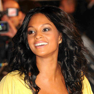 Alesha Dixon in NRJ Music Awards 2009 - Arrivals