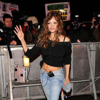 La Toya Jackson - Celebrity Departures From the Celebrity Big Brother House in London on January 21, 2009