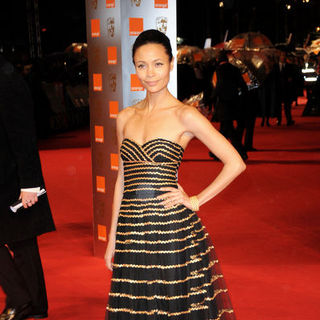 Thandie Newton in 2009 Orange British Academy of Film and Television Arts (BAFTA) Awards - Arrivals