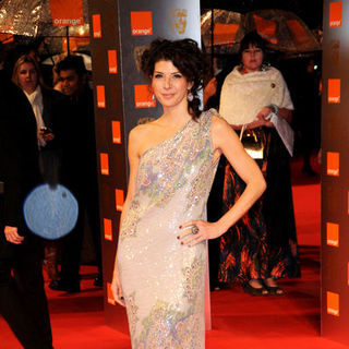 Marisa Tomei in 2009 Orange British Academy of Film and Television Arts (BAFTA) Awards - Arrivals