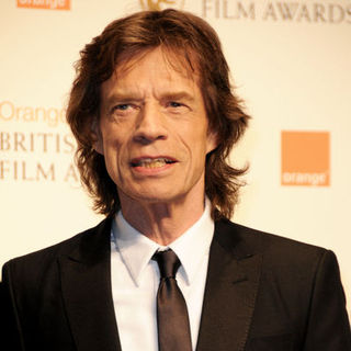 Mick Jagger in 2009 Orange British Academy of Film and Television Arts (BAFTA) Awards - Arrivals