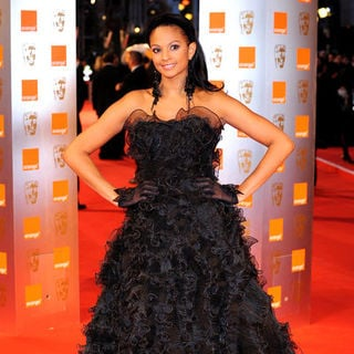 Alesha Dixon in 2009 Orange British Academy of Film and Television Arts (BAFTA) Awards - Arrivals