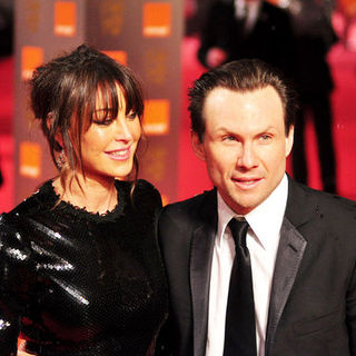 Christian Slater, Tamara Mellon in 2009 Orange British Academy of Film and Television Arts (BAFTA) Awards - Arrivals