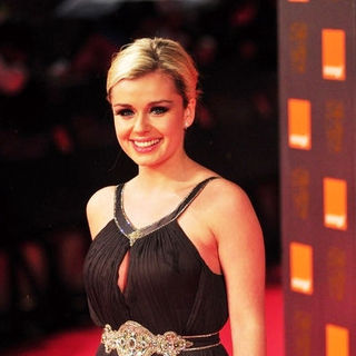 Katherine Jenkins in 2009 Orange British Academy of Film and Television Arts (BAFTA) Awards - Arrivals