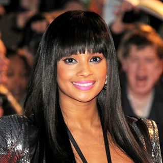 Alesha Dixon in The Brit Awards 2009 - Arrivals