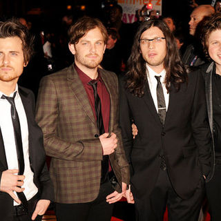 Kings of Leon in The Brit Awards 2009 - Arrivals