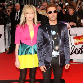 The Ting Tings in The Brit Awards 2009 - Arrivals