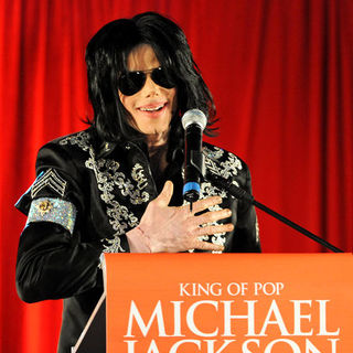 "King of Pop Michael Jackson ""This Is It!"" 10 Show Concert Tour Press Conference"