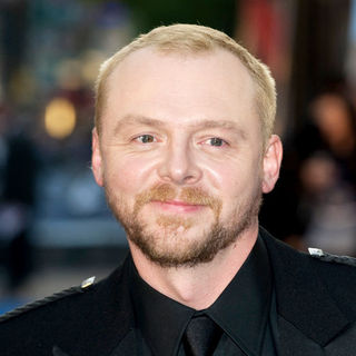 "Simon Pegg in ""Star Trek"" London Premiere - Arrivals"