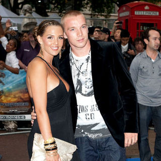 "Danielle Lloyd, Jamie O'Hara in ""Transformers: Revenge of the Fallen"" UK Premiere - Arrivals"