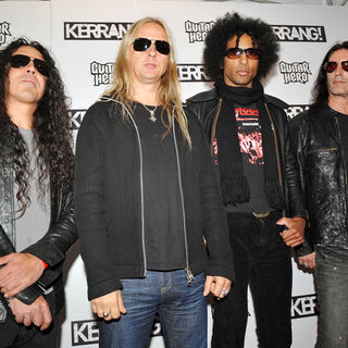 Alice in Chains in Kerrang! Awards 2009 - Arrivals - SPX-031983