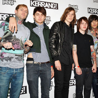 Bring Me The Horizon in Kerrang! Awards 2009 - Arrivals