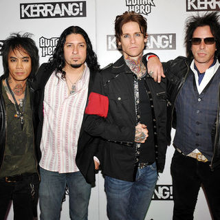 Buckcherry in Kerrang! Awards 2009 - Arrivals - SPX-031990